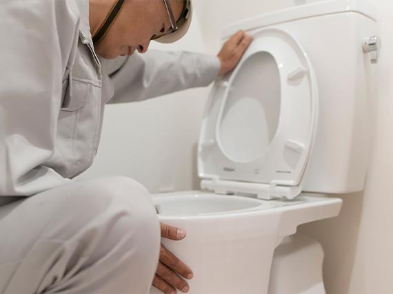 トイレ詰まり除去